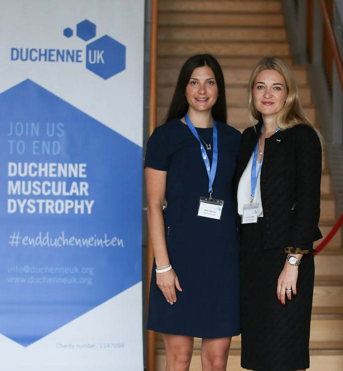 Alex Johnson & Emily Corssley, co-founders of Duchenne UK