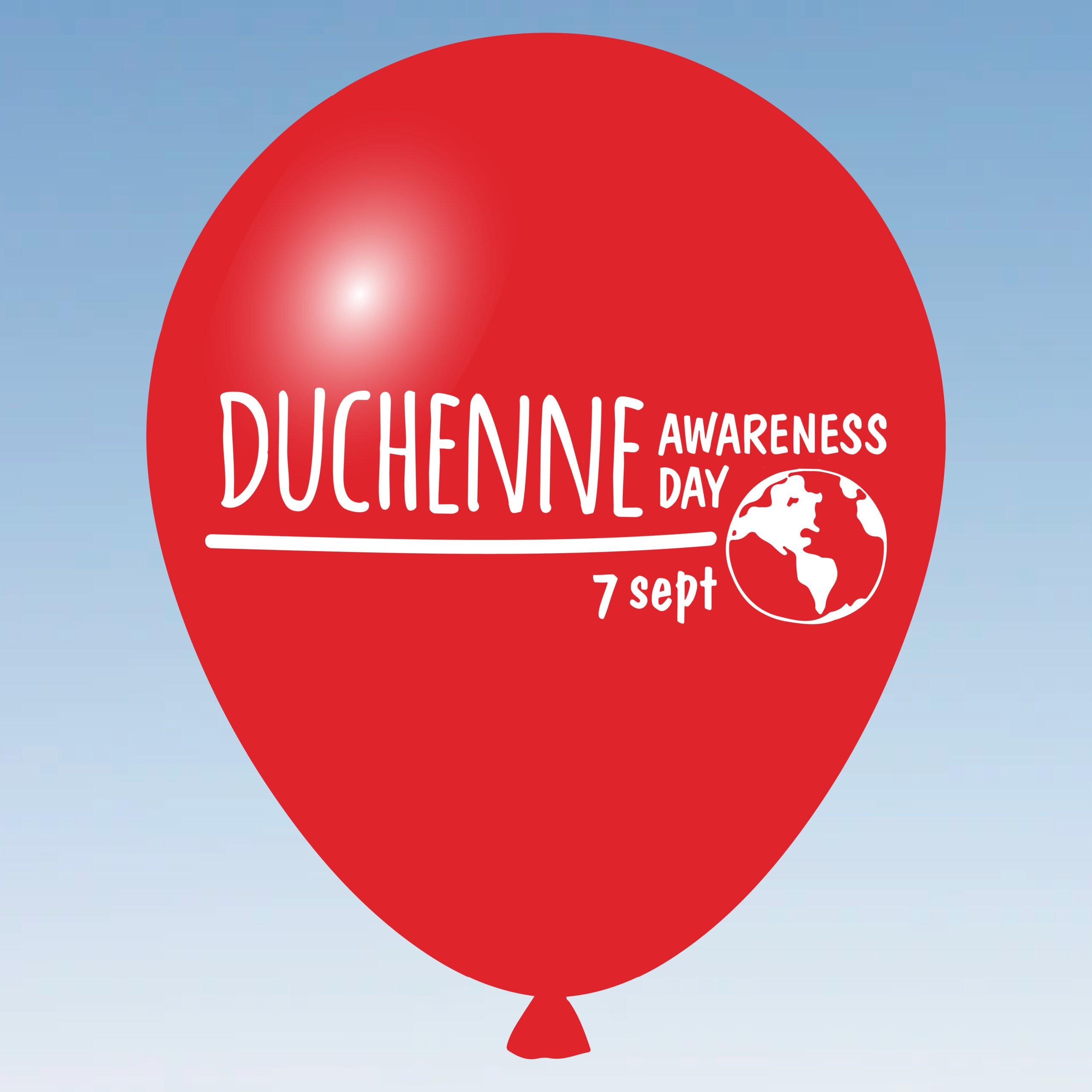 World Duchenne Awareness Day balloon