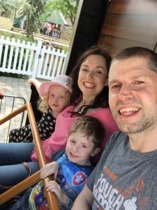 Joe Bullock and family