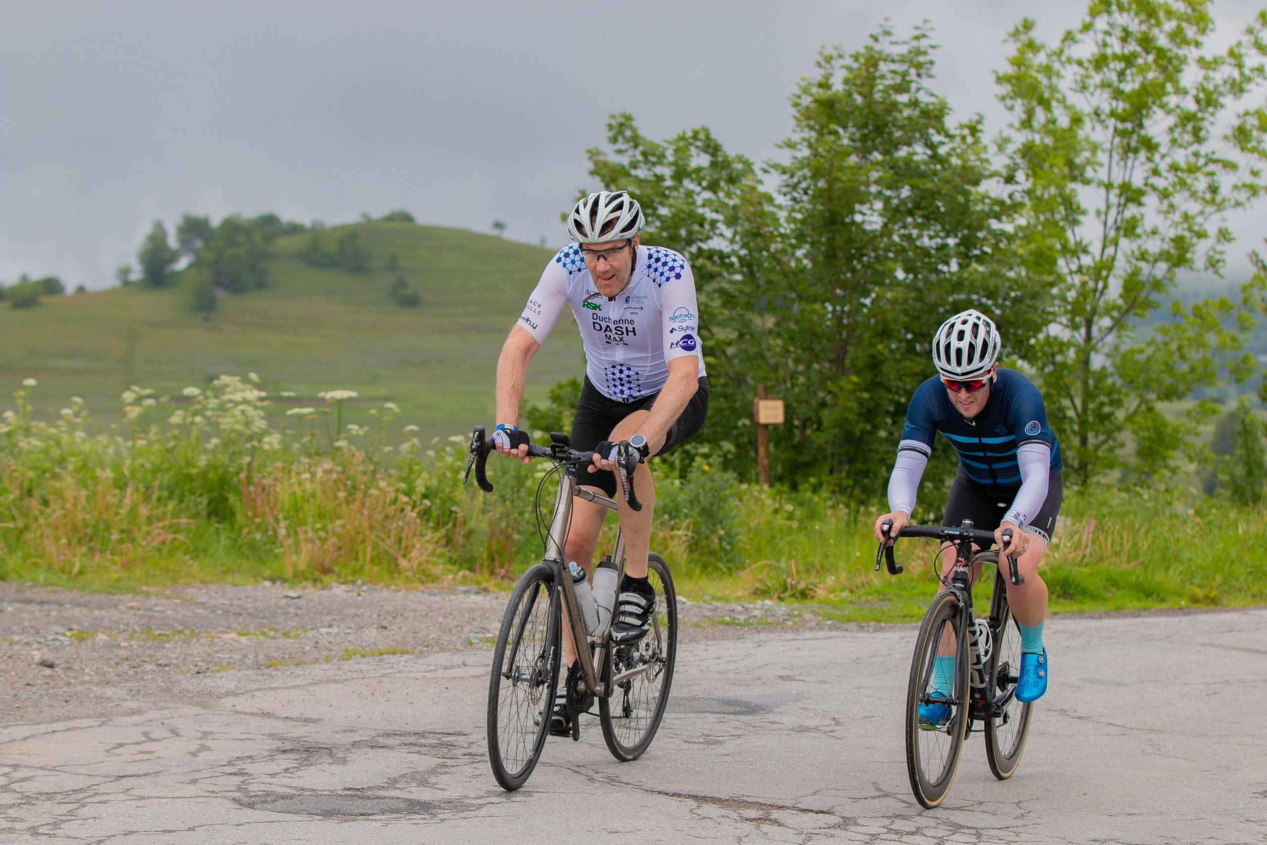 Riders on the Duchenne Dash MAX 2018
