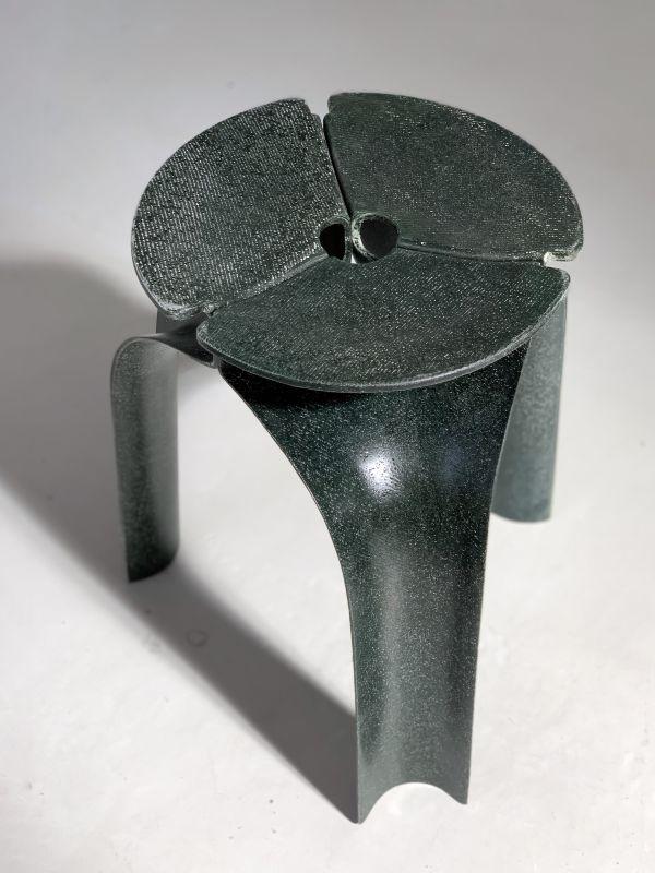 Flax Fiber Triplex Stool