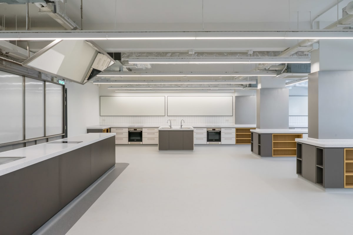 KGV Food Tech and DT Room
