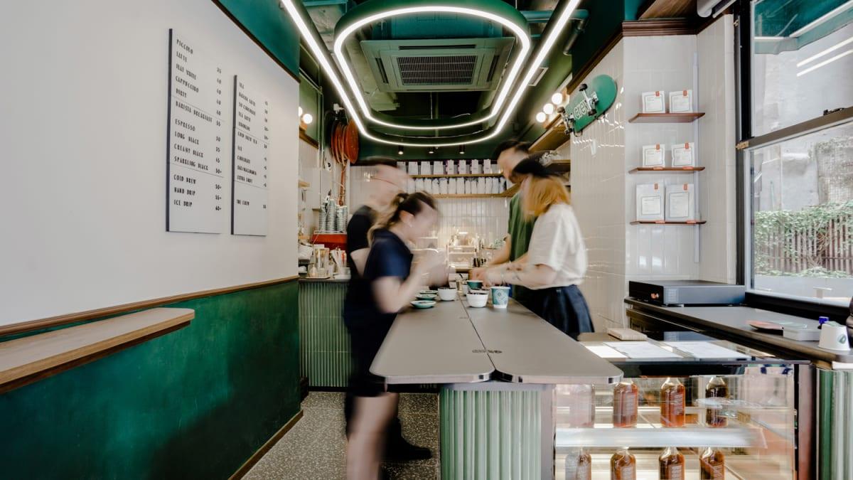 Crew Coffee Shop