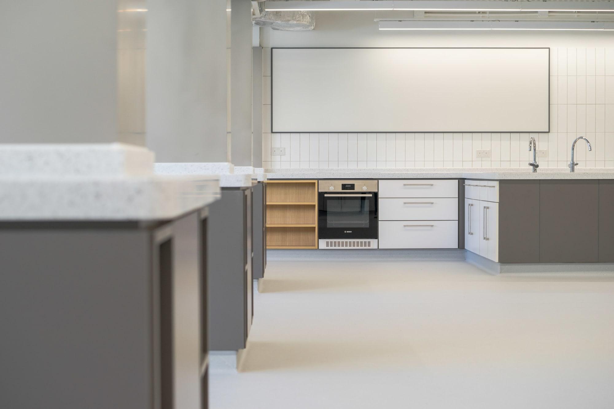 KGV Food Tech Room and Design & Tech Room