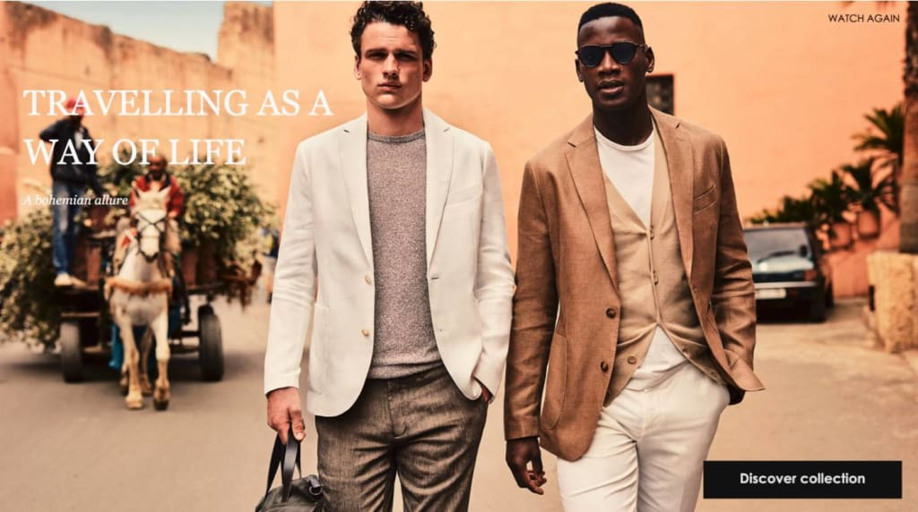 We Rework Mango Menswear For Enhanced Purchase Potential
