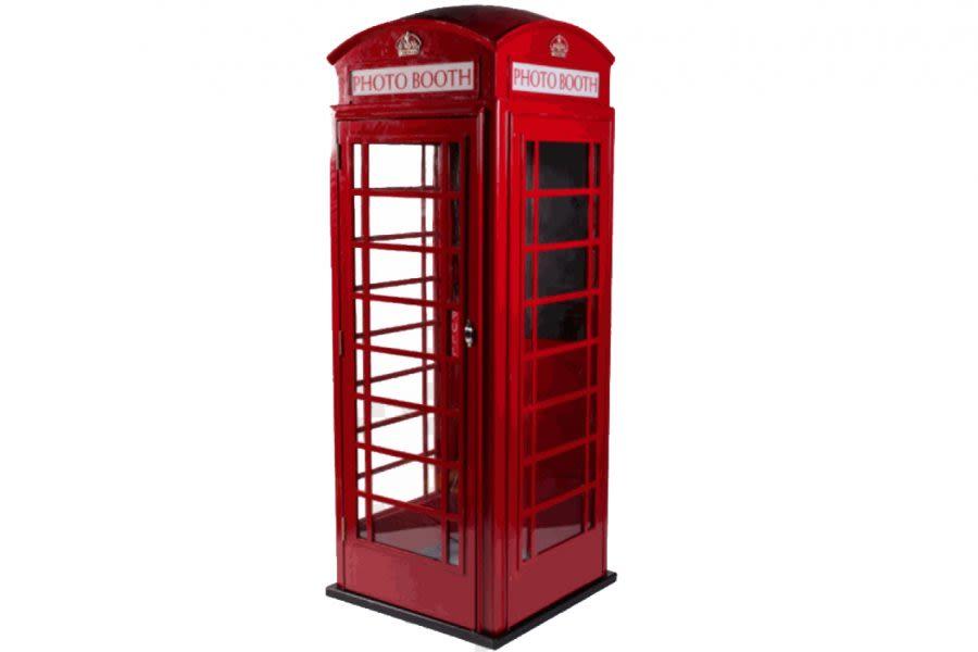 telephone box photo booth