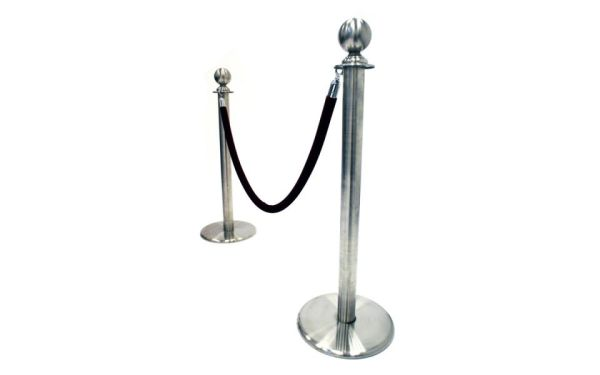 silver barrier post hire
