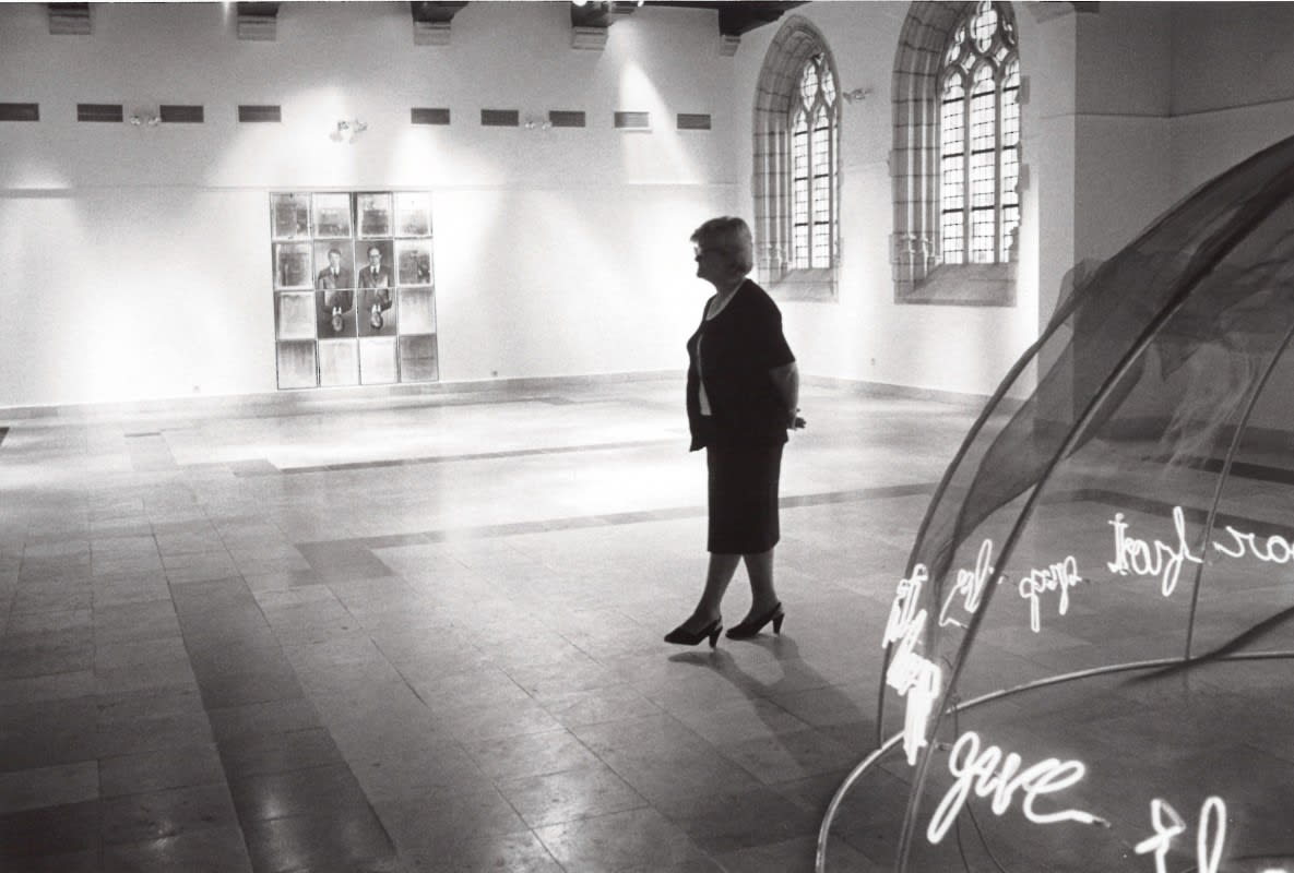 A view from Europalia exhibition at Bozar in 1980