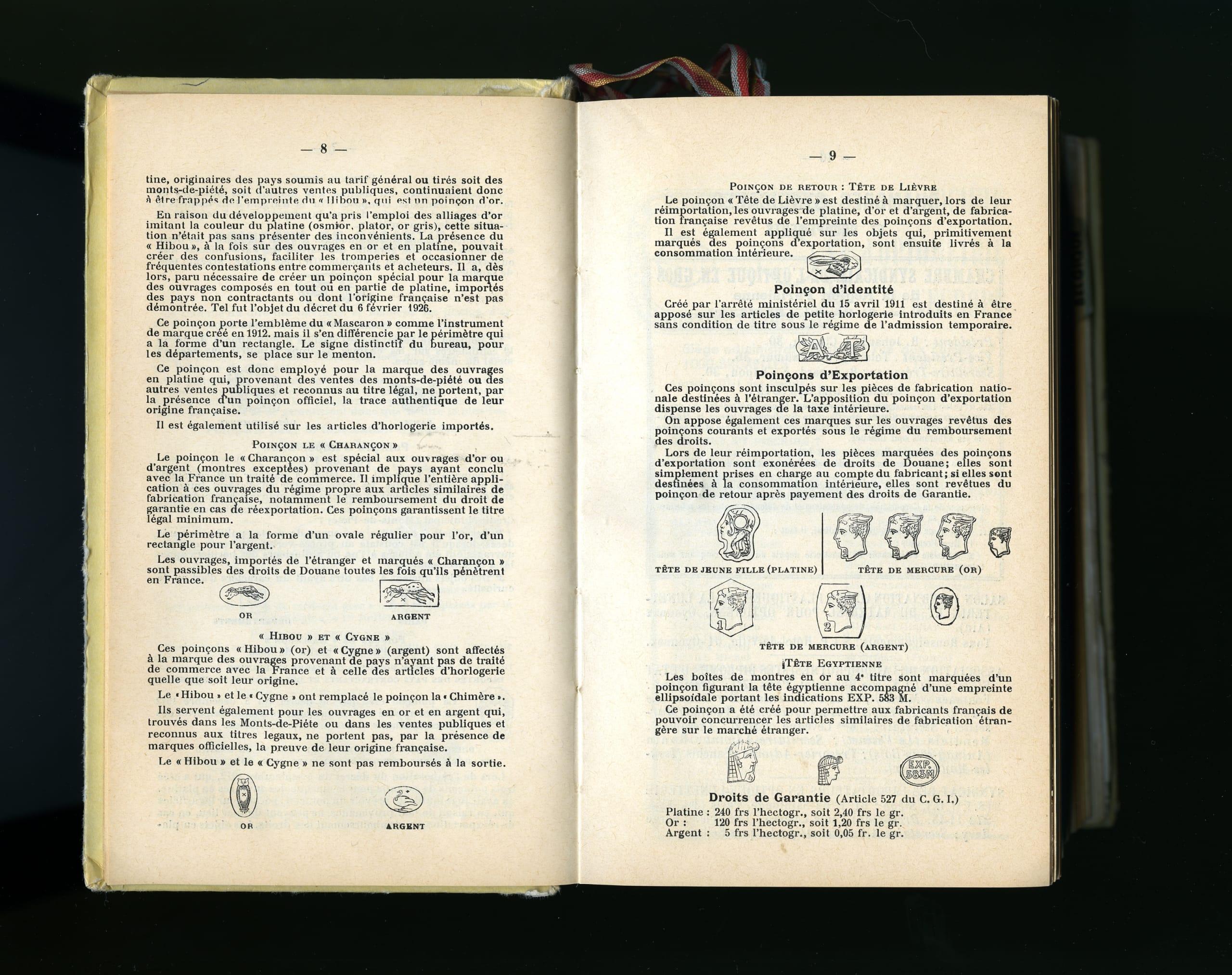 Bidules - Latest - Official Hallmarks are official - illustration -  Lunetterie des Instruments de Précision published in 1970 by Azur-Editions.