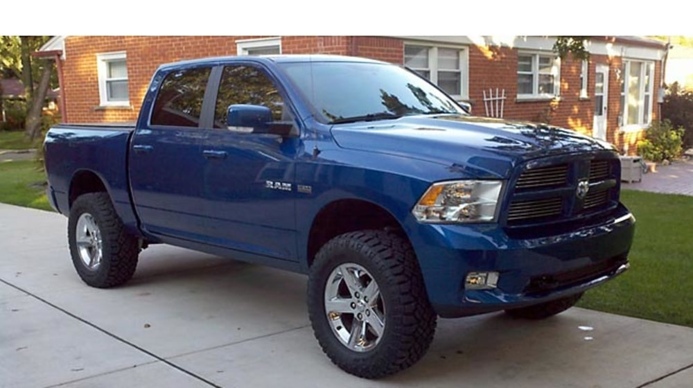 "2010 Dodge Ram 1500 - 4"" Lift Kit image 3"