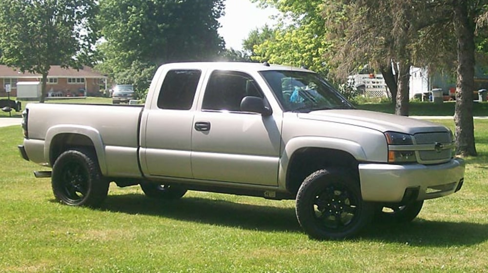 "2005 Chevrolet Silverado 1500 - 3.5"" Combo Lift Kit image 1"