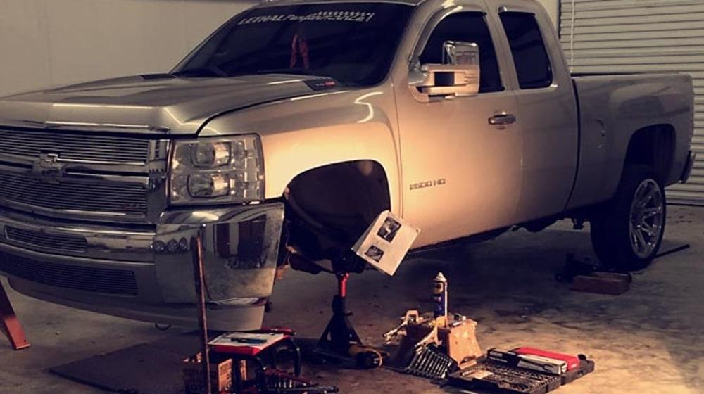 "2010 Chevrolet Silverado 2500 HD - 3"" Lift Kit image 1"