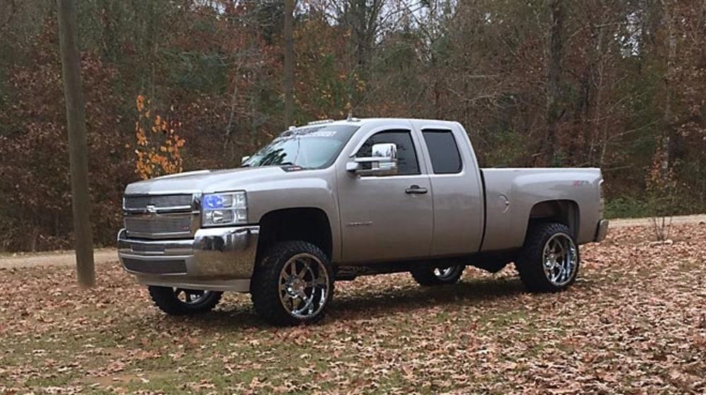 "2010 Chevrolet Silverado 2500 HD - 3"" Lift Kit image 4"