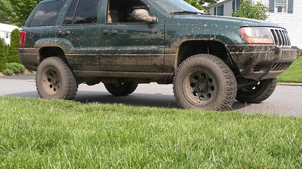 "1999 Jeep Grand Cherokee (WJ) - 4"" Lift Kit image 1"