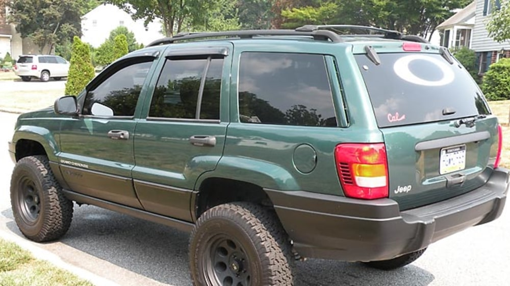 "1999 Jeep Grand Cherokee (WJ) - 4"" Lift Kit image 2"