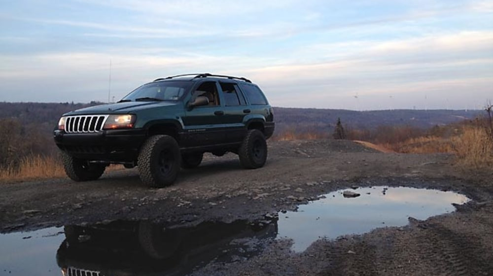"1999 Jeep Grand Cherokee (WJ) - 4"" Lift Kit image 3"