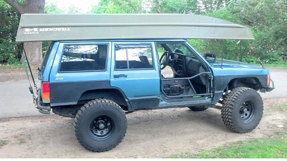 "1999 Jeep Cherokee (XJ) - 3"" Lift Kit image 1"