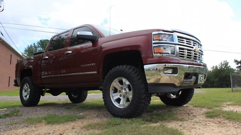 "2014 Chevrolet Silverado 1500 - 4.5"" Lift Kit image 1"
