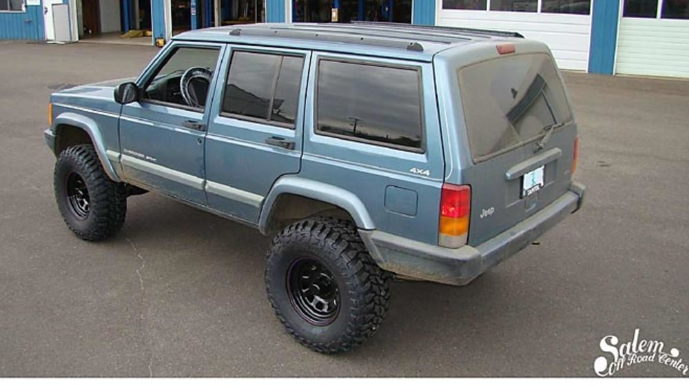 "1999 Jeep Cherokee (XJ) - 4.5"" Lift Kit image 3"