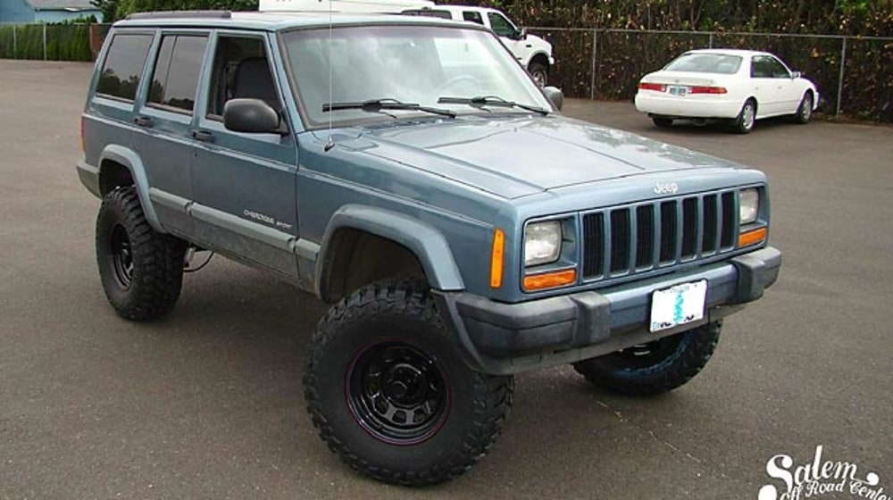"1999 Jeep Cherokee (XJ) - 4.5"" Lift Kit image 4"