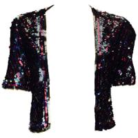 1stdibs1940s Multicolor Sequin Short Sleeve Bolero