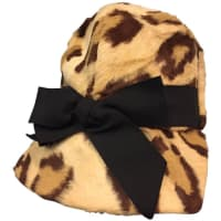 1stdibs1960s Betmar Faux Leopard Jockey-inspired Mod Hat