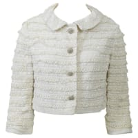 1stdibs1960s White Lace Cropped Jacket