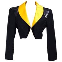 Saint Laurent1980s Saint Laurent Rive Gauche Tuxedo Bolero Jacket