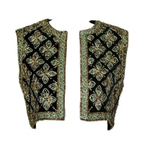 1stdibsLarry Aldrich By Marie Mccarthy Vintage 1960s Embellished Vest Or Waistcoat