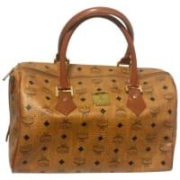 MCMMint. Vintage Mcm Brown Monogram Duffle Bag, Speedy Bag. Unisex Use Purse