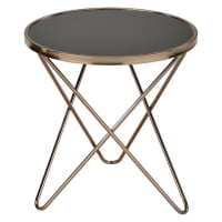 6ixtyChampagne Side Table