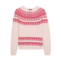 A.P.C.Romy Wool And Cotton-blend Sweater - Cream