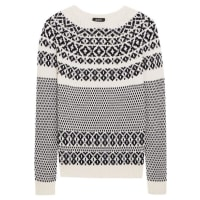 A.P.C.Romy Wool And Cotton-blend Sweater - Black
