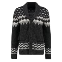 Abercrombie & FitchCardigan black pattern