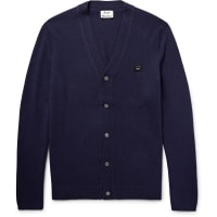 Acne StudiosDasher Wool Cardigan - Navy