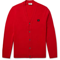 Acne StudiosDasher Wool Cardigan - Red
