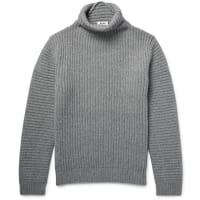 Acne StudiosKalle Ribbed Wool Rollneck Sweater - Gray