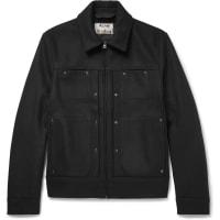 Acne StudiosMetal Wool-blend Jacket - Black
