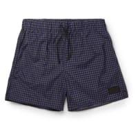 Acne StudiosPerry Checked Mid-length Swim Shorts - Navy