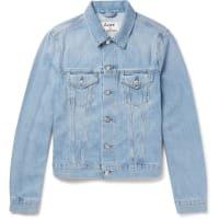 Acne StudiosWho Slim-fit Washed-denim Jacket - Blue