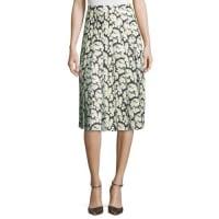 Adam LippesHigh-Waist Floral-Print Combo Skirt, Mini Dahlia
