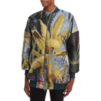Adam LippesTropical-Print Bomber Jacket, Multi