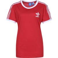 adidas3 Stripes W T-Shirts T-Shirt vivid red vivid red