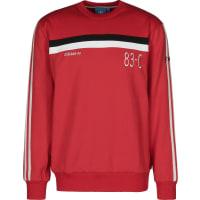 adidas83-c Crew Sweater rot weiß schwarz rot weiß schwarz