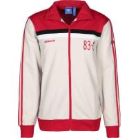adidas83-c Chaqueta de deporte beige rojo