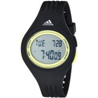 adidasAdidas Mens ADP3177 Uraha Digital Display Analog Quartz Black Watch
