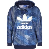 adidasBg Oversized W Hoodie blau weiß