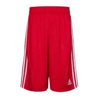 adidas PerformanceCommander Basketballshort Herren, rot, rot / weiß
