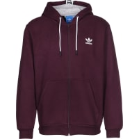 adidasEs Hooded Sweat Zipper weinrot weinrot