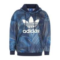 adidasHoody mit Allover-Print blau